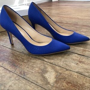 Jessica Simpson Royal Blue Levin Pump Heel 8.5